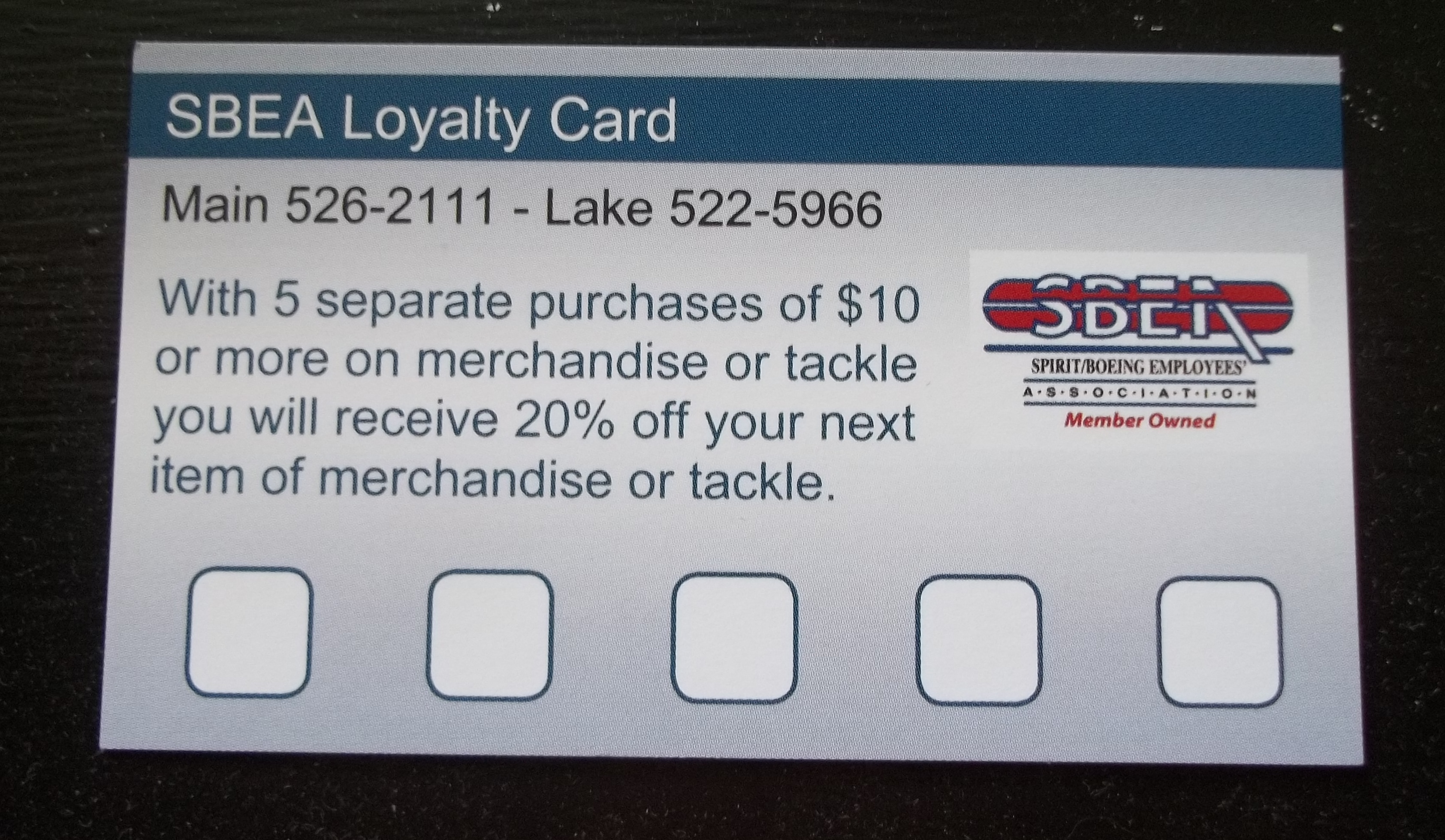 Lake   Spirit / Boeing Employees' Association